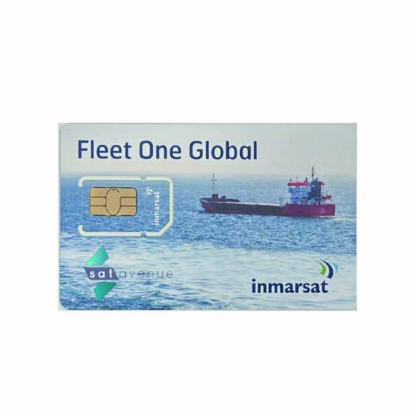 Carte SIM pour modem Inmarsat Fleet One-Satavenue