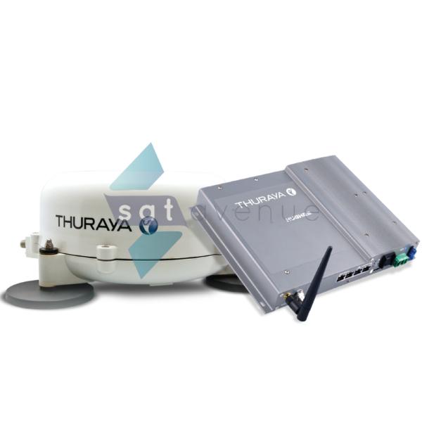 Modem satellite véhicule Thuraya Voyager IP-Satavenue