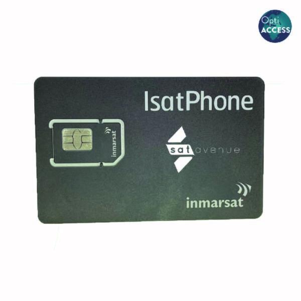 Carte SIM Inmarsat pour téléphone satellite IsatPhone avec logiciel OptiACCESS-Satavenue