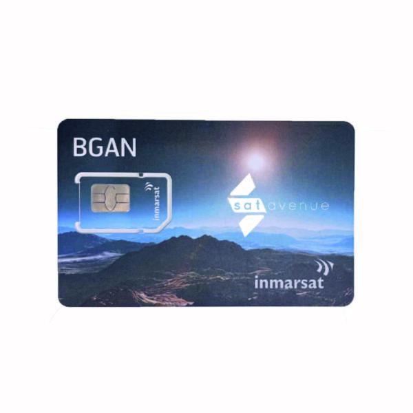 Carte SIM Inmarsat BGAN pour modem satellite BGAN-Satavenue