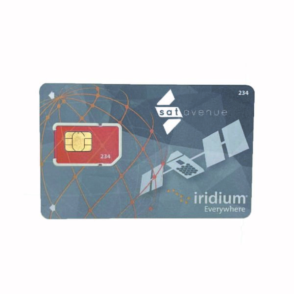 Carte SIM pour téléphones et modems Iridium avec abonnement-Satavenue