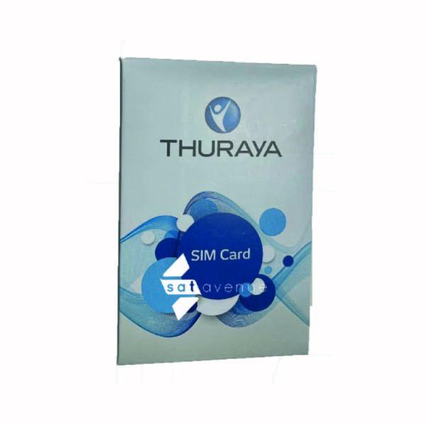 Carte SIM pour équipements par satellite Thuraya-Satavenue