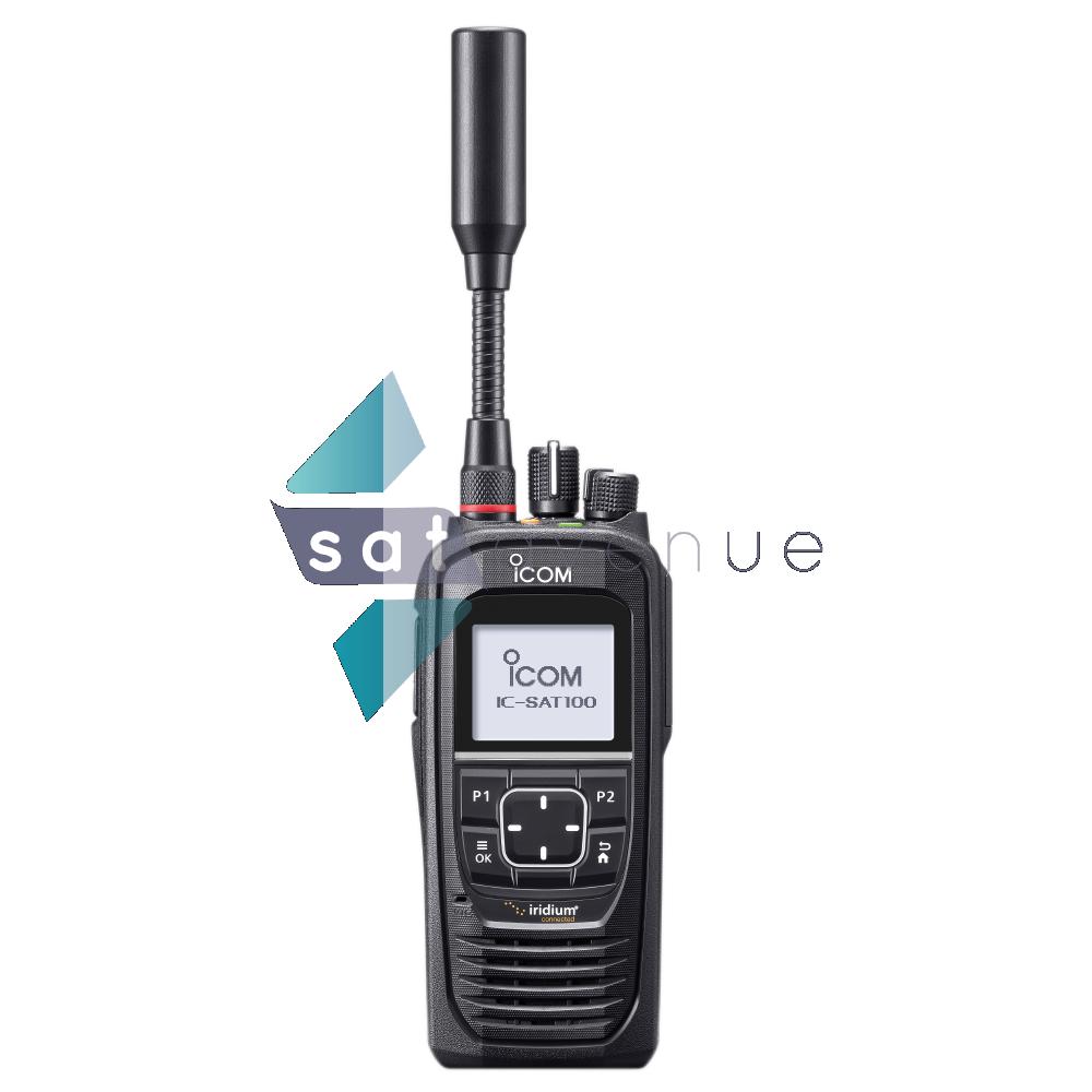 Combiné satellite PTT ICOM IC-SAT100_Satavenue