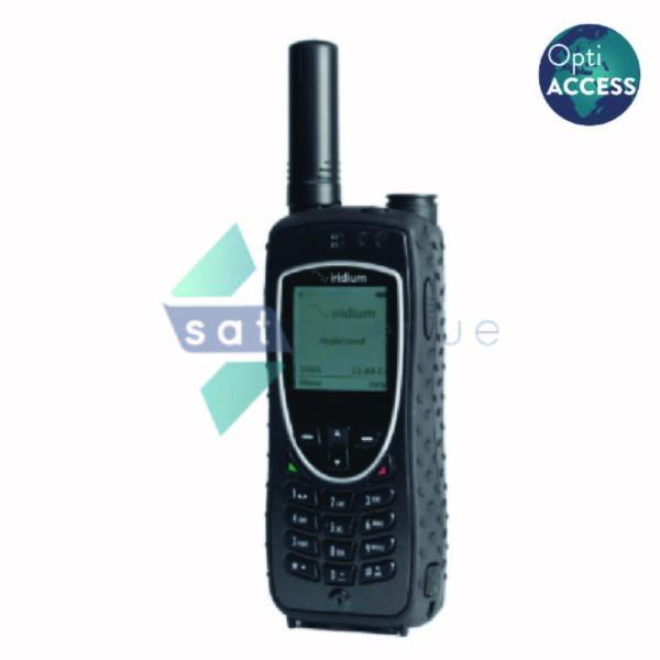 Téléphone satellite Iridium 9575 sous logiciel OptiACCESS-Satavenue