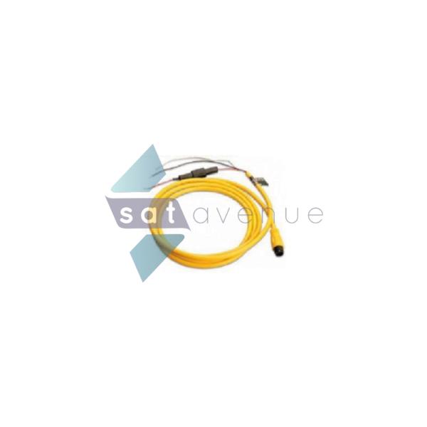 Câble alimentation 12-24V pour modem satellite terrestre BGAN Explorer 325-727-Satavenue
