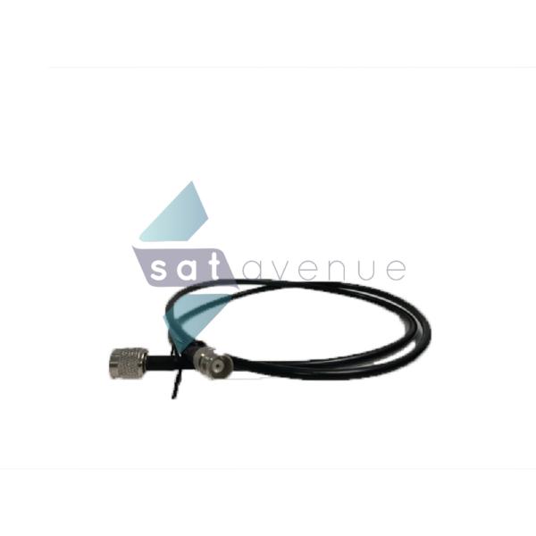 Câble souple pour terminal satellite Iridium 1m connecteurs TNC-Satavenue