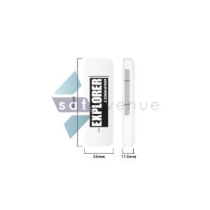 Clé USB LTE pour modem satellite terrestre Inmarsat BGAN Explorer 510-710-Satavenue