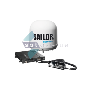 Communication pour modem satellite Inmarsat Fleet One-Satavenue