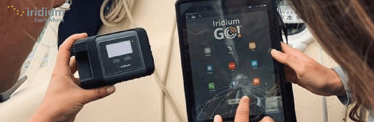 Point d'accès Wifi par satellite Iridium GO!-Satavenue
