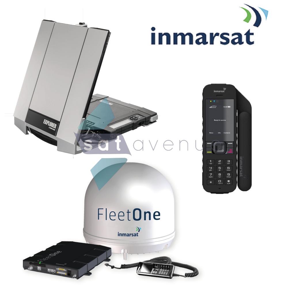 Pack communication Inmarsat pour téléphone satellite IsatPhone 2 et modems satellite BGAN Explorer et Fleet One_Satavenue