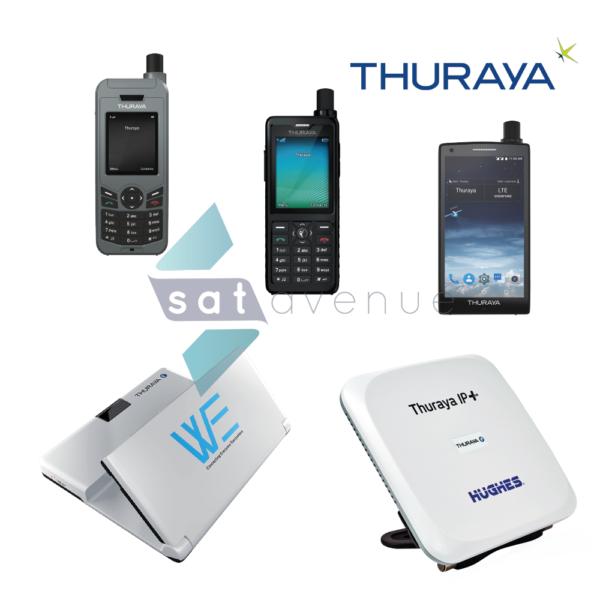 Pack communication Thuraya pour les téléphones satellites XT Lite-XT Pro-X5 Touch et les modems satellites WE et IP+-Satavenue