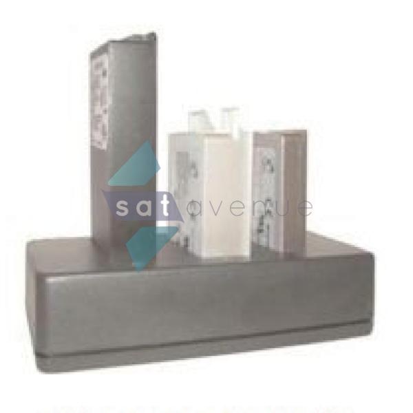 Chargeur de batteries Thuraya 3 slots pour téléphone satellite Thuraya SO2510-SG2520-XT-Satavenue
