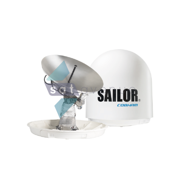 Antenne satellite maritime VSAT Sailor 100GX-Satavenue