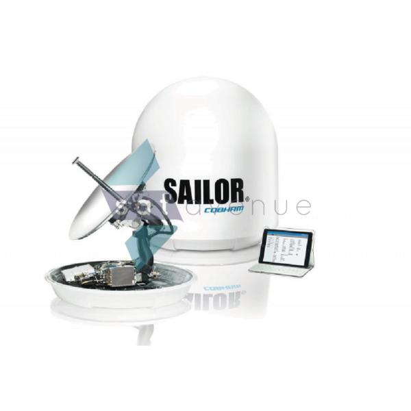 Antenne satellite maritime VSAT Sailor 60GX-Satavenue