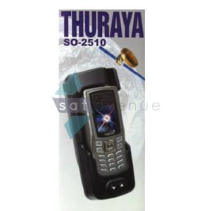 Station d'accueil véhicule Sattrans pour téléphone satellite Thuraya SO2510 (sud) - câble 3m-Satavenue